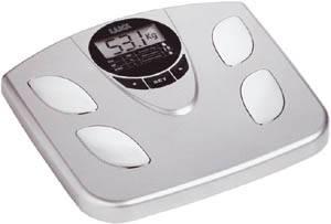 Электронные напольные весы с анализатором процентного содержания жировой ткани и воды MD6142
